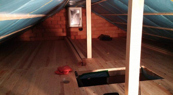 Ausbau Dachgeschoss Teil 2