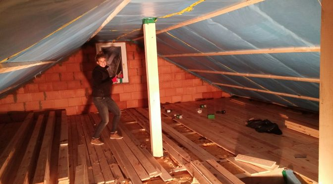 Ausbau Dachgeschoss Teil 1